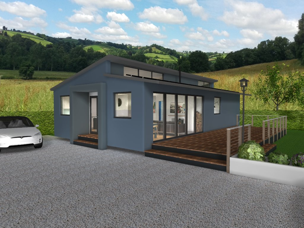 Affordable Shipping Container House design
