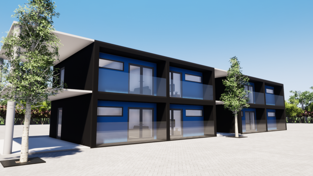 Shipping Container Campus