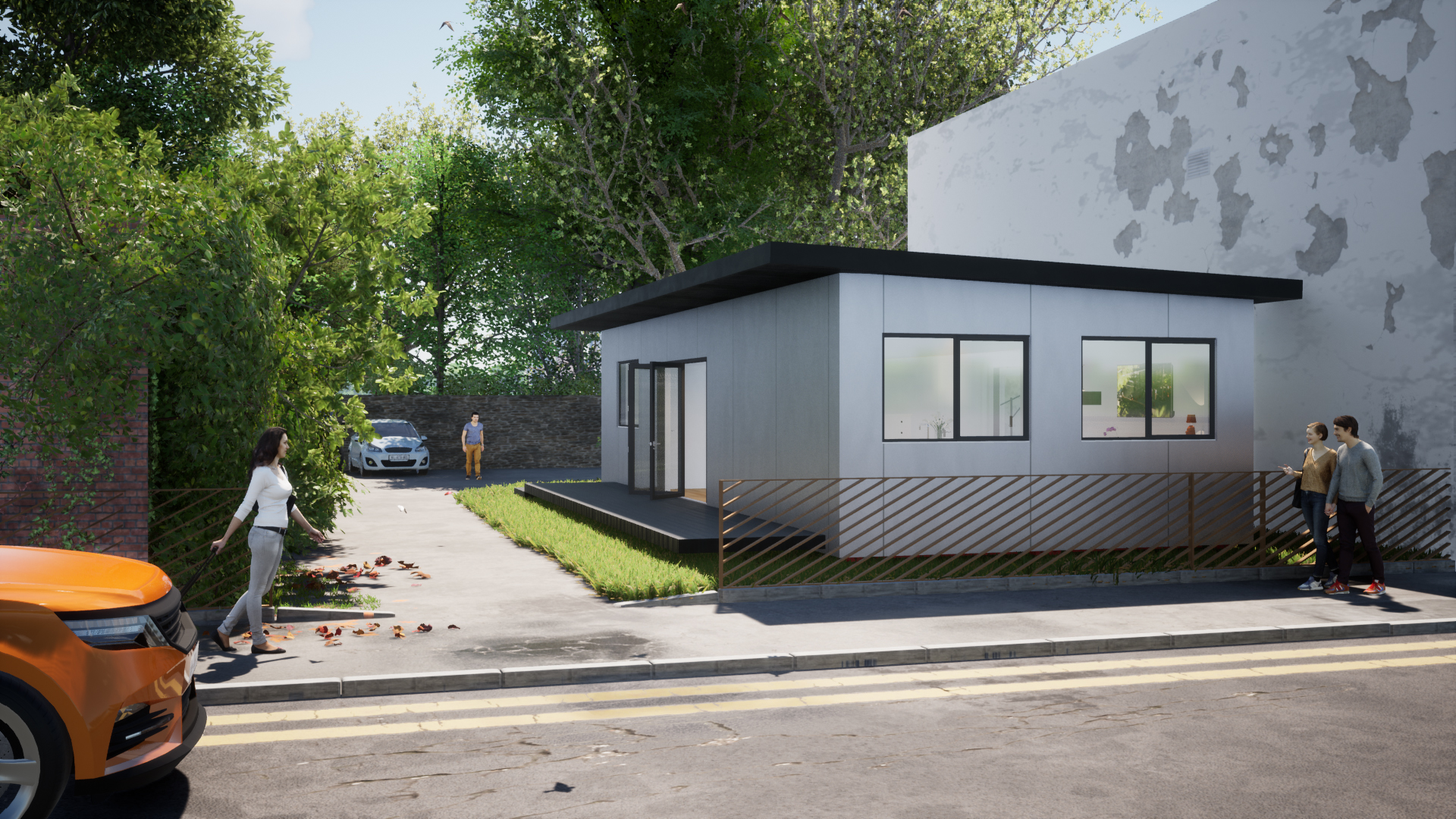 H22B 2 Bedroom shipping container home