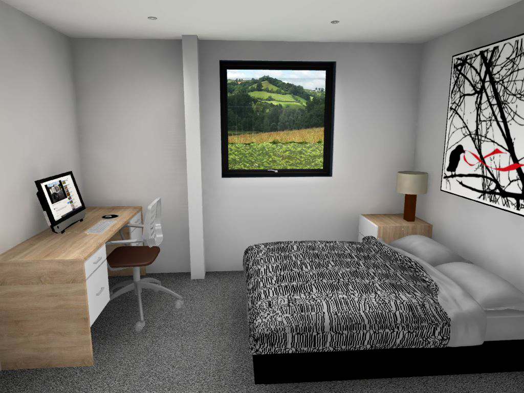 38. House no3 V2 Bed2 to window